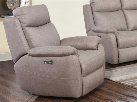Barcalounger Casual Comfort Brockton Taupe Power Recliner Chair