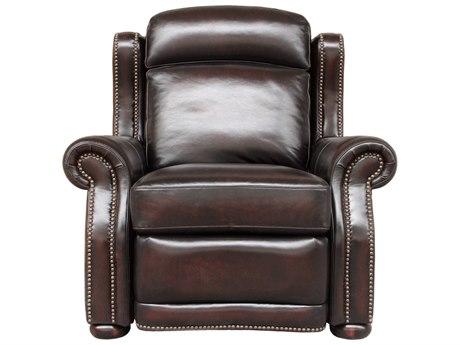 Barcalounger Vintage Washington Stetson Coffee Power Recliner Chair