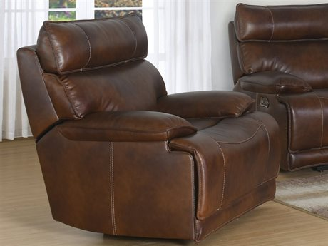 Barcalounger Casual Comfort Wesley Halifax Chocolate Power Recliner Chair