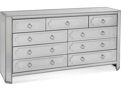Bassett Mirror Hollywood Glam Chapman 9 Drawer Chest