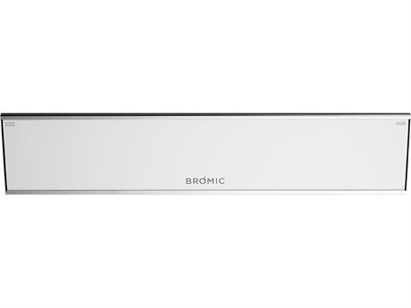 Bromic Heating Platinum Smart Heat White 2300 Watt Electric Heater PatioLiving