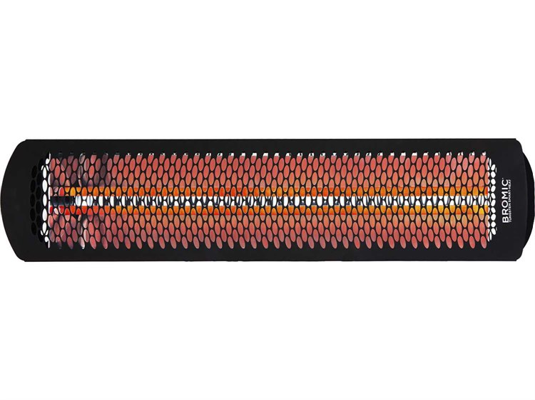 Bromic Heating Tungsten Smart-Heat 4000W Electric 220V-240V BLACK