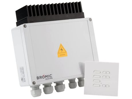 Bromic Heating Dimmer Switch for Smart-Heat Electric Heaters with Wireless Remote PatioLiving