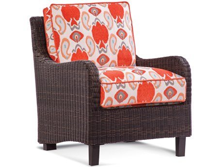 Braxton Culler Outdoor Tangier Sable Wicker Cushion Lounge Chair