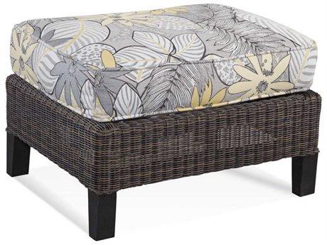 Braxton Culler Outdoor Tangier Sable Wicker Cushion Ottoman BCO404009