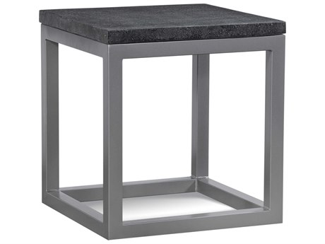 Braxton Culler Outdoor Tangier Sable 20'' Wide Aluminum Resin Square End Table BCO404071
