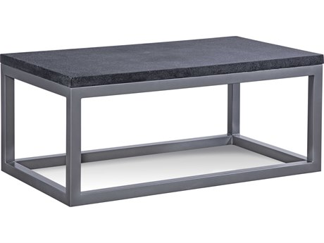 Braxton Culler Outdoor Tangier Sable 42'' Wide Aluminum Resin Rectangular Coffee Table BCO404072