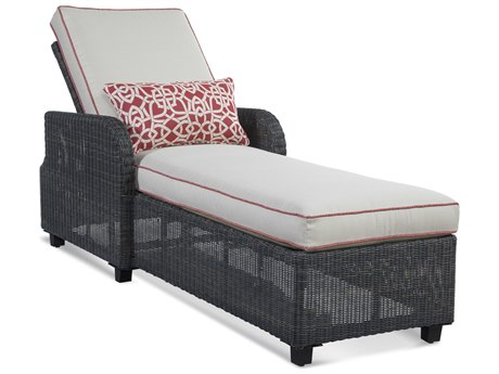Braxton Culler Outdoor Tangier Sable Wicker Cushion Chaise Lounge BCO404092