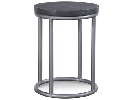 Braxton Culler Outdoor Tangier Sable 16'' Wide Aluminum Resin Round End Table BCO404122