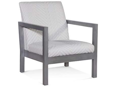 Braxton Culler Outdoor Larissa Greystone Aluminum Resin Cushion Lounge Chair BCO407001