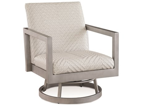 Braxton Culler Outdoor Larissa Greystone Aluminum Resin Cushion Lounge Chair BCO407005