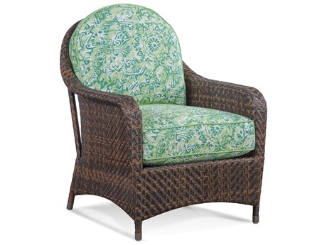 Braxton Culler Outdoor Belle Isle Coffee Wicker Cushion Lounge Chair BCO410001