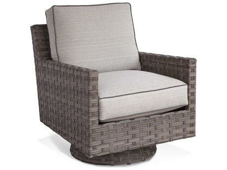 Braxton Culler Outdoor Luciano Granite Wicker Cushion Lounge Chair BCO414005
