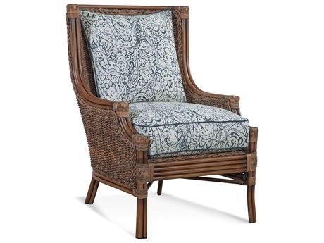 Braxton Culler Outdoor Sardinia Cigar Wicker Cushion Lounge Chair PatioLiving