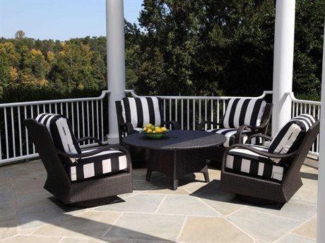 Braxton Culler Outdoor Brighton Pointe Wicker Cushion Lounge Set PatioLiving