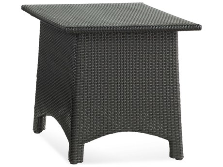 Braxton Culler Outdoor Brighton Pointe Charcoal 24'' Wide Wicker Square End Table BCO435071