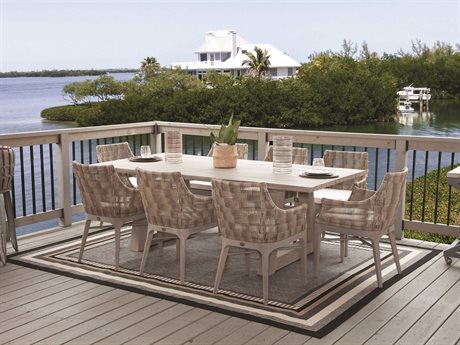 Braxton Culler Outdoor Sag Harbor Teak Dining Set PatioLiving