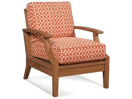 Braxton Culler Outdoor Messina Teak Cushion Lounge Chair BCO489001
