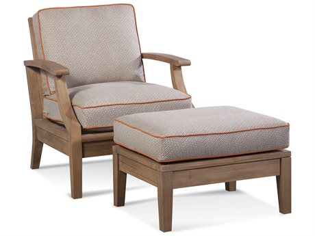Braxton Culler Outdoor Messina Teak Cushion Lounge Set