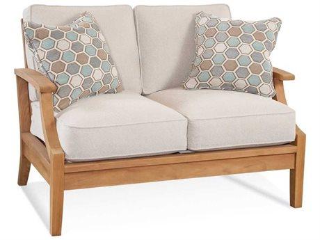 Braxton Culler Outdoor Messina Teak Cushion Loveseat BCO489019