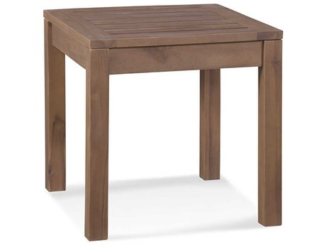 Braxton Culler Outdoor Messina Teak 20'' Wide Rectangular End Table
