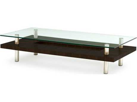 BDI Hokkaido 60'' x 30'' Rectangular Espresso Stained Oak Large Coffee Table