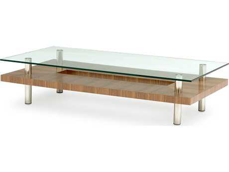BDI Hokkaido 60'' x 30'' Rectangular Natural Walnut Large Coffee Table