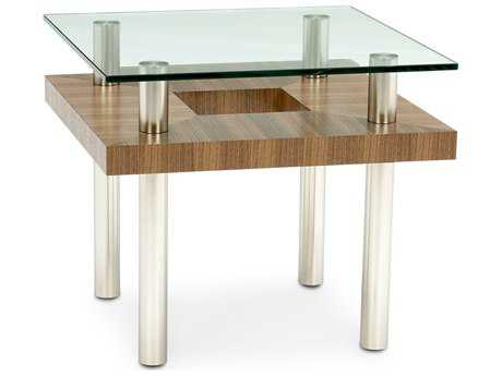 BDI Hokkaido 24'' Square Natural Walnut End Table