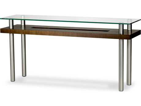 BDI Hokkaido 60'' x 16'' Chocolate Stained Walnut Console Table