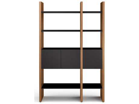 BDI Semblance Storage 50.75L x 79.5H Two-Section Display Bookcase
