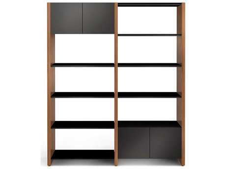 BDI Semblance Storage 66L x 79.5H Two-Section Display Bookcase
