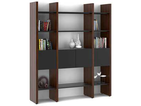 BDI Semblance Storage 68L x 79.5HThree-Section Display Bookcase