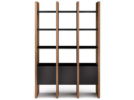 BDI Semblance Storage 52.75L x 79.5H Three-Section Display Bookcase