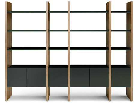 BDI Semblance Storage 100L x 79.5H Four-Section Display Bookcase