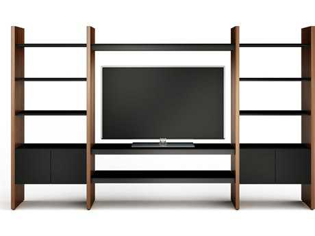 BDI Semblance Home Theater 130'' x 16.5'' Three-Section Entertainment Center with AV Shelves