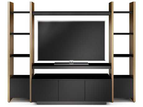 BDI Semblance Home Theater 100'' x 22'' Three-Section Entertainment Center