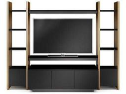 BDI Semblance Home Theater 99.75'' x 22'' Three-Section Entertainment Center