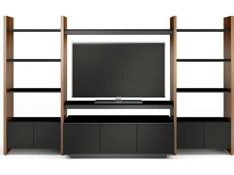 BDI Semblance Home Theater 130'' x 22'' Three-Section Entertainment Center