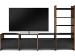 BDI Semblance Home Theater 130.25'' x 16.5'' Four-Section High & Low Entertainment Center