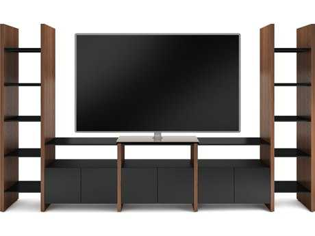 BDI Semblance Home Theater 131'' x 16.5'' Five-Section High & Low Entertainment Center