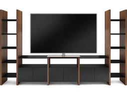 BDI Semblance Home Theater 130.25'' x 16.5'' Five-Section High & Low Entertainment Center