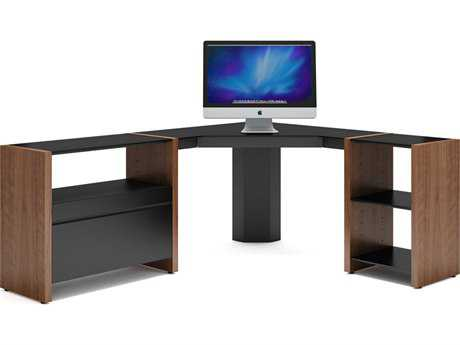BDI Semblance Office 59.5-74.5'' x 16.5'' Three-Section Low Corner Computer Desk