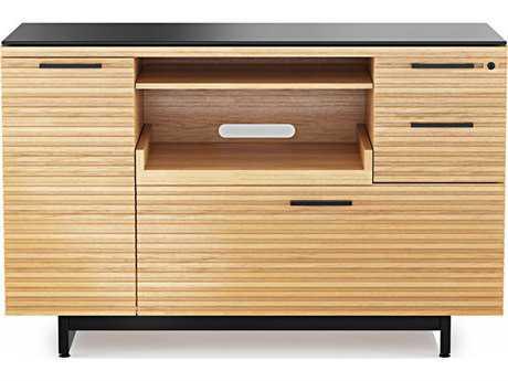 BDI Corridor Office 47.75''L x 18''W White Oak Multi-Function Cabinet