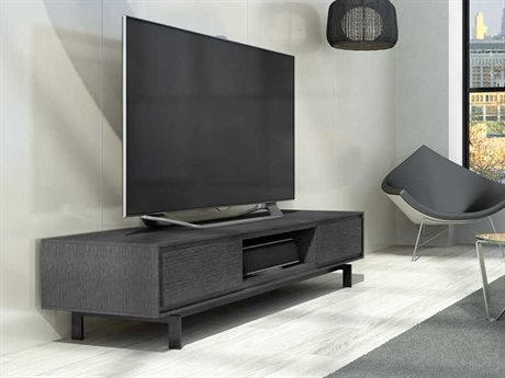 BDI Signal 79'' x 22'' Graphite Triple Width Low TV Stand
