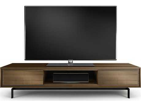 BDI Signal 79.25'' x 22.25'' Natural Walnut Triple Width Low TV Stand