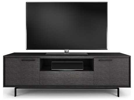 BDI Signal 79'' x 22'' Graphite Triple Width Tall TV Stand