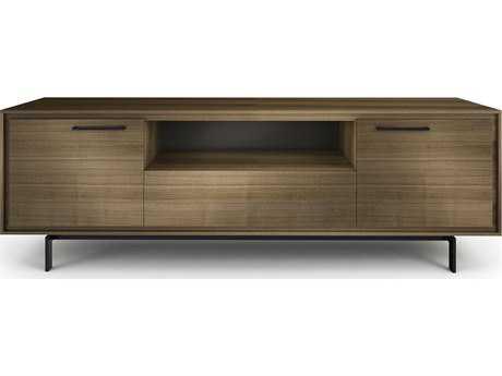 BDI Signal 79'' x 22'' Natural Walnut Triple Width Tall TV Stand