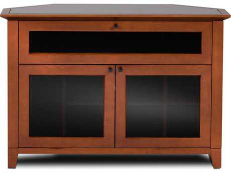 BDI Novia 45'' x 22'' Natural Stained Cherry Single Wide Corner TV Stand