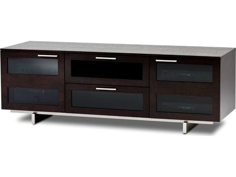 BDI Avion S. II 65'' x 22'' Espresso Stained Oak Triple Wide TV Stand