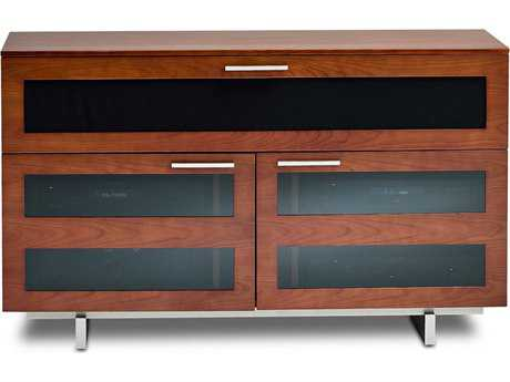 BDI Avion S. II 47.5'' x 22'' Natural Stained Cherry Tall Double TV Stand